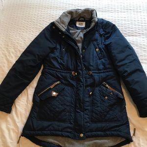 Women's Small Navy Blue winter coat!!